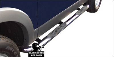 Suv Truck Accessories - Running Boards - Black Horse - Mercury Mountaineer Black Horse Side Steps