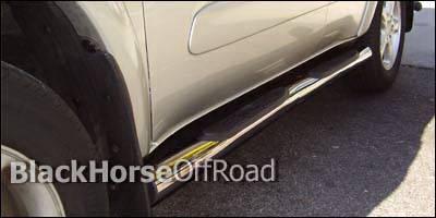 Suv Truck Accessories - Running Boards - Black Horse - Toyota Rav 4 Black Horse Side Steps