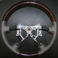 Car Interior - Steering Wheels - Sherwood - Toyota Land Cruiser Sherwood Steering Wheel