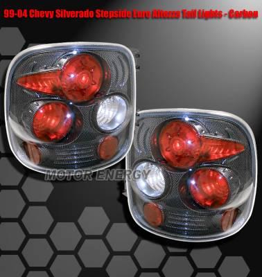 Headlights & Tail Lights - Tail Lights - Custom - Carbon Fiber Altezza Lights - Stepside