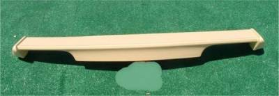 Spoilers - Custom Wing - Custom - Rear Wing Spoiler Euro Style