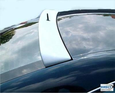 Spoilers - Custom Wing - Custom - Roof Spoiler Painted L Style