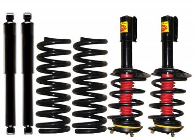 Suspension - Coil Overs - Strutmasters - Saturn Relay Strutmasters Front Coil Over Struts & Rear Coil Spring with Shocks 4 Wheel Conversion Kit - BT-F1-R1-AWD