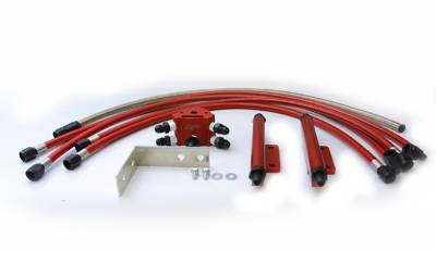 Performance Parts - Fuel System - Agency Power - Subaru WRX Agency Power High-Flow Fuel Rail Kit with Hardware & Lines