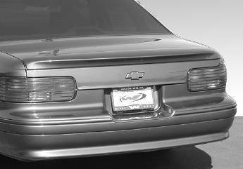 Spoilers - Custom Wing - AFT - Impala Caprice SS Spoiler