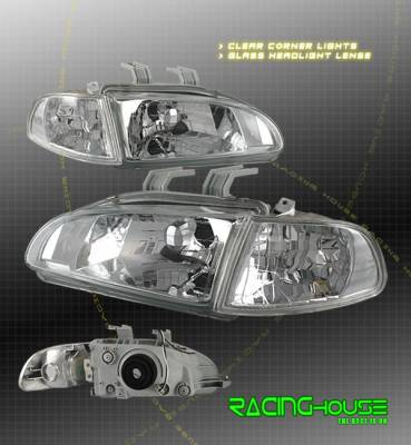 Headlights & Tail Lights - Headlights - Custom - Chrome OE Style