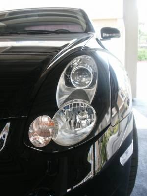 Headlights & Tail Lights - Headlights - Custom - Headlight Overlays GTR Style