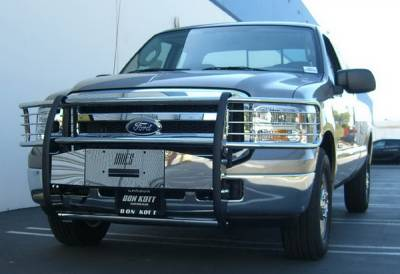 Suv Truck Accessories - Winches Winch Kits - Aries - Ford Superduty Aries Retriever Guard Center
