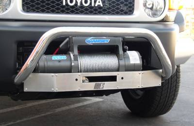 Suv Truck Accessories - Winches Winch Kits - Aries - Toyota FJ Cruiser Aries Retriever Guard Center
