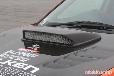 WRX - Hood Scoops - Chargespeed - Subaru WRX Chargespeed Hood Duct STi Style
