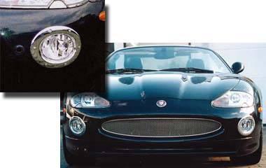 Headlights & Tail Lights - Fog Lights - Custom - Chrome Fog Light Surrounds