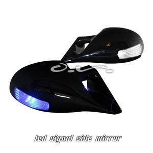 Astro Van - Mirrors - Silk - Chevrolet Astro Silk M3 Power Style Mirrors - YH-3266-A-B-MIA-AV85