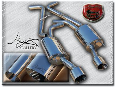 Exhaust - Custom Fit Exhaust - Custom - Sport Performance Exhaust System