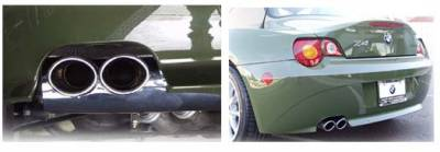 Exhaust - Custom Fit Exhaust - Custom - Z4 Tri Flow Exhaust System