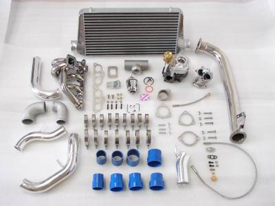 Performance Parts - Turbo Charger Kit - Custom - 240sx s13 s14 ka24de Motor t25