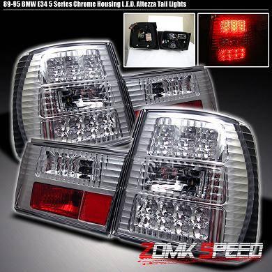 Headlights & Tail Lights - Led Tail Lights - Custom - Chrome LED Tail