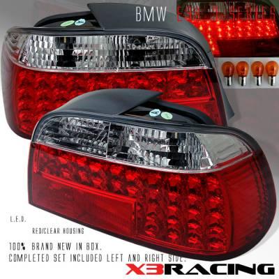 Headlights & Tail Lights - Led Tail Lights - Custom - E38 7-SERIES LED TAIL