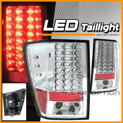 Headlights & Tail Lights - Led Tail Lights - Custom - Black LED tail