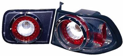 Headlights & Tail Lights - Led Tail Lights - Custom - Carbon Fiber LED Tailights