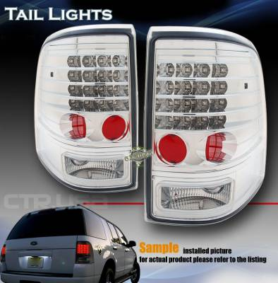 Headlights & Tail Lights - Led Tail Lights - Custom - FORD EXPLORER MOUNTAINEER LED TAILLIGHT