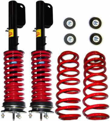 Suspension - Coil Overs - Strutmasters - Land Rover Range Rover Strutmasters Front Coil Over Strut & Rear Coil Spring 4 Wheel Conversion Kit - RR-3-4