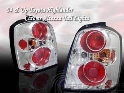 Headlights & Tail Lights - Custom Wing - Custom - Chrome Altezza Taillights
