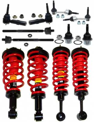 Suspension - Coil Overs - Strutmasters - Lincoln Navigator Strutmasters Front & Rear Coil Over Strut 4 Wheel Conversion Kit - XN44-2-BUN