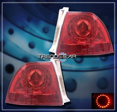 Headlights & Tail Lights - Led Tail Lights - Custom - Red Altezza LED Taillights