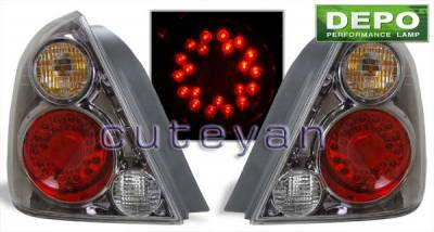 Headlights & Tail Lights - LED Tail Lights - Custom - Euro Smoked Altezza LED Taillights