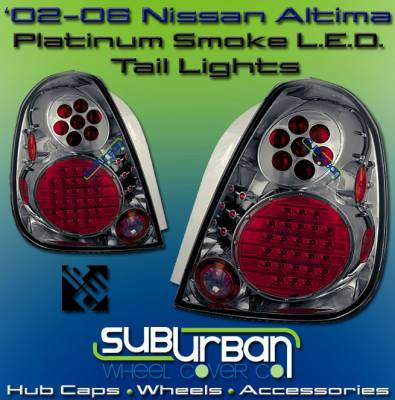Headlights & Tail Lights - LED Tail Lights - Custom - Platinum Smoke Altezza LED Taillights