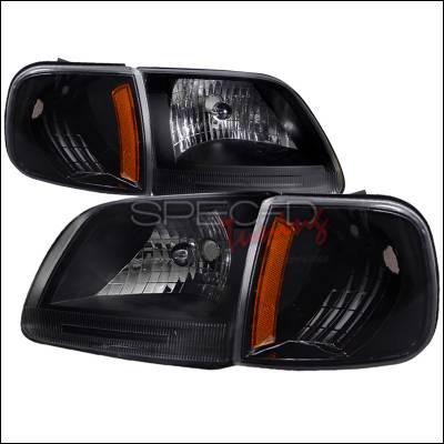 Headlights & Tail Lights - Corner Lights - Spec-D - Ford F150 Spec-D Headlights & Corner Lights - 2LCLH-F15097JM-RS