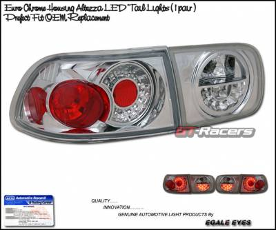 Headlights & Tail Lights - Led Tail Lights - Custom - Chrome Euro Altezza LED Taillights