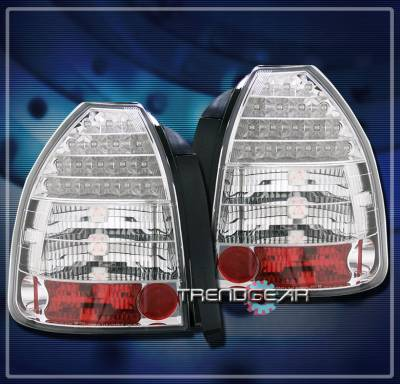 Headlights & Tail Lights - Led Tail Lights - Custom - Chrome LED Altezza Taillights