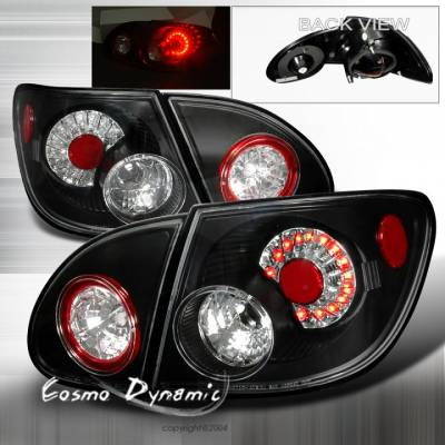 Headlights & Tail Lights - Led Tail Lights - Custom - Black Housing LED Taillights