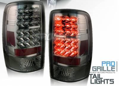 Headlights & Tail Lights - Led Tail Lights - Custom - Smoke LED Taillights