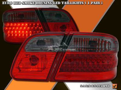 Headlights & Tail Lights - Led Tail Lights - Custom - Euro Smoke Taillights