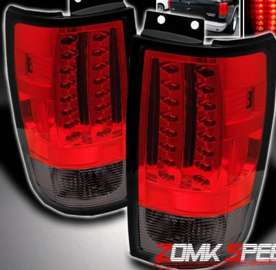 Headlights & Tail Lights - Led Tail Lights - Custom - Red Smoke Altezza LED Taillights