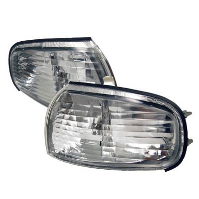 Headlights & Tail Lights - Corner Lights - Spyder - Toyota Camry Spyder Corner Lights - Clear - CCL-DP-TCAM92-C
