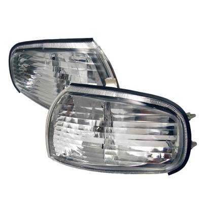 Headlights & Tail Lights - Corner Lights - Spyder Auto - Toyota Camry Spyder Corner Lights - Clear - CCL-DP-TCAM92-C