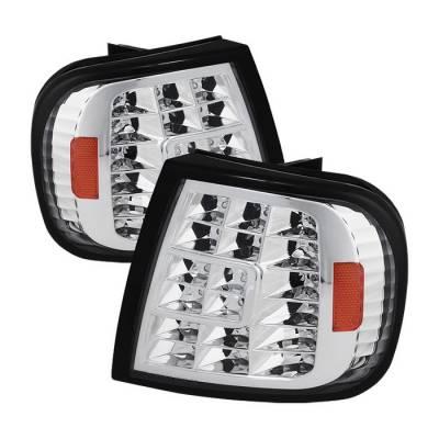 Headlights & Tail Lights - Corner Lights - Spyder - Ford F150 Spyder LED Corner Lights - Euro - CCL-FF15097-LED-E