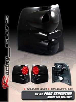Headlights & Tail Lights - Led Tail Lights - Custom - Dark Smoke LED Taillights
