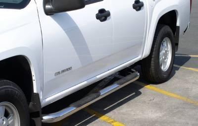 Suv Truck Accessories - Running Boards - Aries - GMC Envoy Aries Sidebars - 3 Inch
