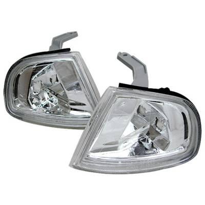 Headlights & Tail Lights - Corner Lights - Spyder - Honda Prelude Spyder Corner Lights - Euro - CCL-HPRE92-E