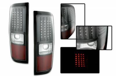 Headlights & Tail Lights - Led Tail Lights - Custom - Euro Carbon LED Taillights