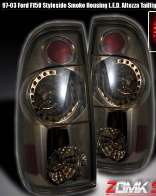 Headlights & Tail Lights - LED Tail Lights - Custom - Smoke Altezza LED Taillights
