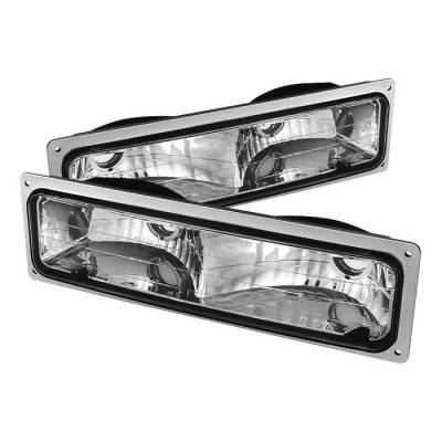 Headlights & Tail Lights - Corner Lights - Spyder - Chevrolet CK Truck Spyder Bumper Lights - Euro - CPL-JH-CCK94-E