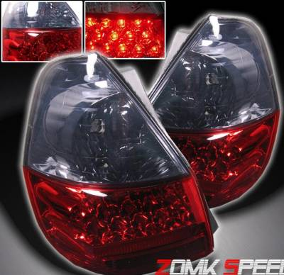 Headlights & Tail Lights - Led Tail Lights - Custom - JDM Red Smoke LED Taillights