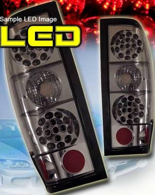 Headlights & Tail Lights - LED Tail Lights - Custom - All Smoke LED Taillights