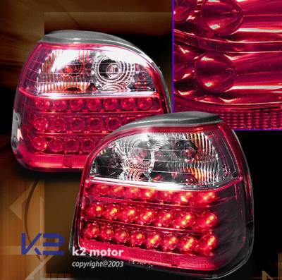 Headlights & Tail Lights - Led Tail Lights - Custom - Red LED Taillights