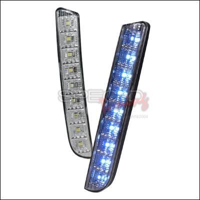 Headlights & Tail Lights - Corner Lights - Spec-D - Scion xB Spec-D LED Daytime Driving Lights - LB-XB08CLED-RS